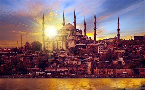 Blue Mosque Wallpaper 4k by Wallpapers Istanbul 4k Blue Mosque Sunset