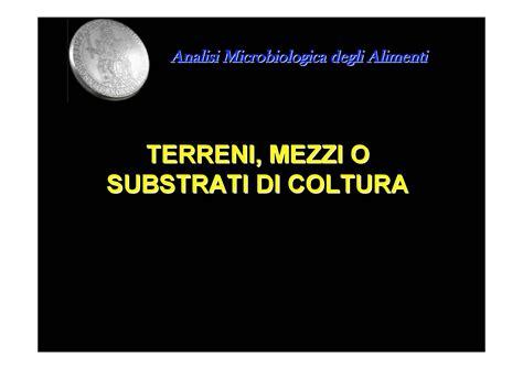 dispense microbiologia coltivazione microbica dispense