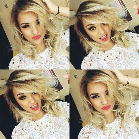 and dai blond and dai cheveux courts coupe cheveux cheveux