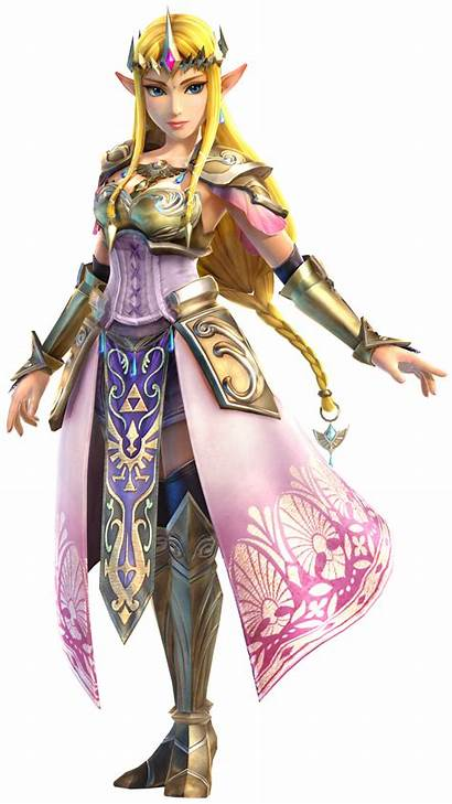Zelda Hyrule Warriors Princess Character Artwork Outfit