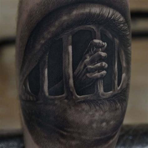 eye cage tattoo  tattoo ideas gallery