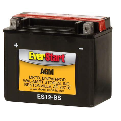 Everstart Agm Powersport Battery Group Size Es 12bs 12