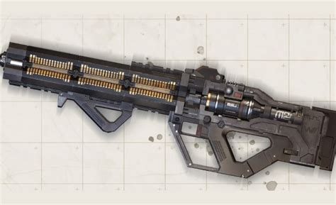 apex legends new weapon is an energy assault rifle with a