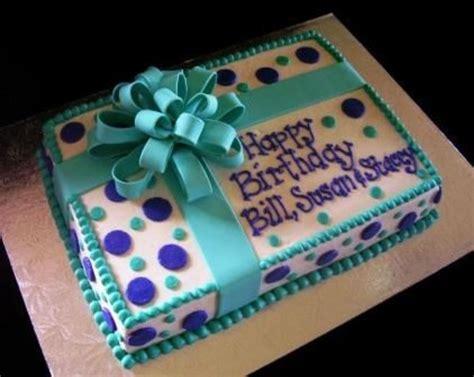 teal purple present cakecentralcom