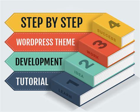 step  step wordpress theme development tutorial