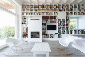 Grande Bibliothèque Murale : grande biblioth que sur un mur entier ~ Teatrodelosmanantiales.com Idées de Décoration