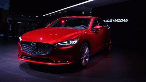 2018 mazda6 gets 250 hp turbo treatment new interior for la debut