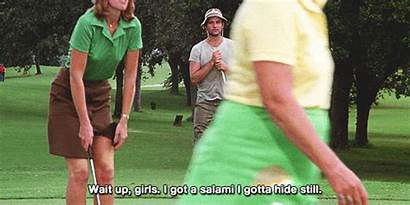 Caddyshack Murray Bill Gifs Giphy Golf Quotes