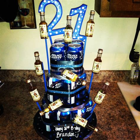 completed pinterest project beer  birthday