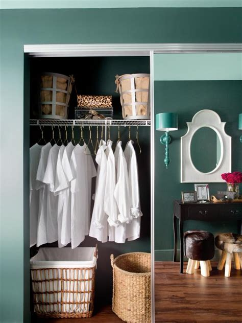 ways to decorate small bedrooms how to decorate a small entryway hgtv 20117 | Original BPF RMH House Closets and Hallways mirrored doors.jpg.rend.hgtvcom.616.822