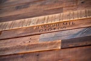 Deco Mur En Bois Planche : comment faire un mur en bois de palette ~ Dailycaller-alerts.com Idées de Décoration