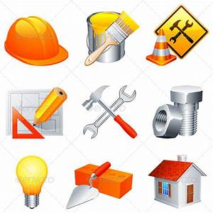 Stock Vector - GraphicRiver Construction Icons 5448913 ...