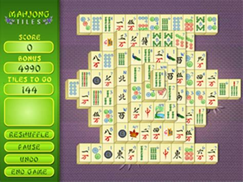 mah jong tiles msn games free online games