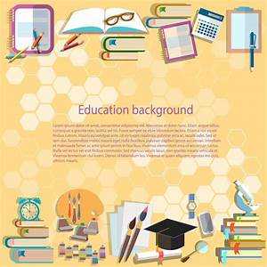 Education Background Back To School University College ...