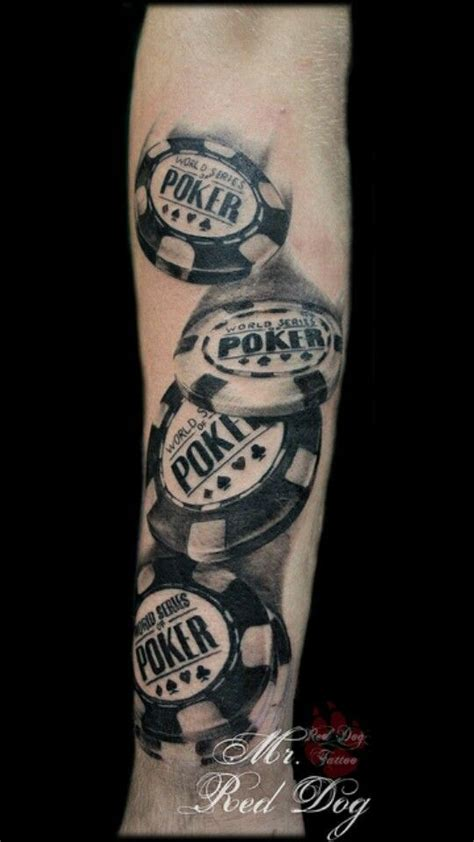 Poker Chips  Tattoo'spainting With Ink Pinterest