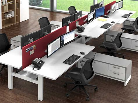 adjustable desk height modular office furniture los angeles los angeles office