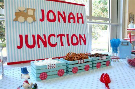 Train Themed Birthday Party Ideas  Home Party Ideas