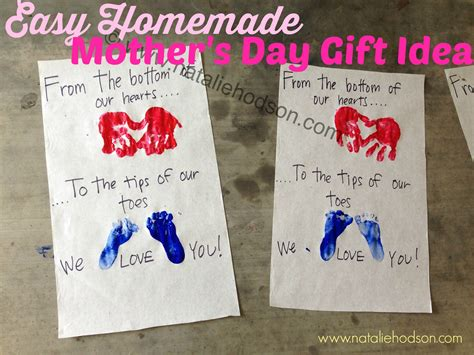 home made gifts for mothers day natalie hodson easy homemade mother s day gift idea