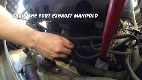 winterizing   mercruiser   marine engine