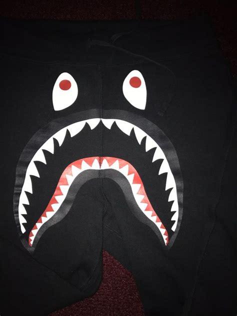 Bape black sweatpants a bathing ape Supreme box logo BBC
