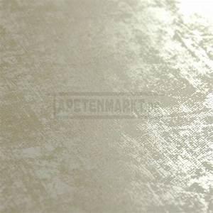 vliestapete mit patina optik in weiss und silber With balkon teppich mit arte tapeten