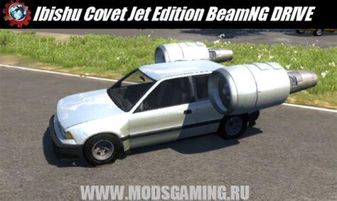beamng drive скачать мод машина ibishu covet jet edition