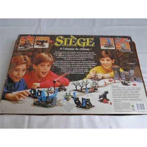 siege de jeux siège a l 39 attaque du chateau mb 1993 jouets rétro