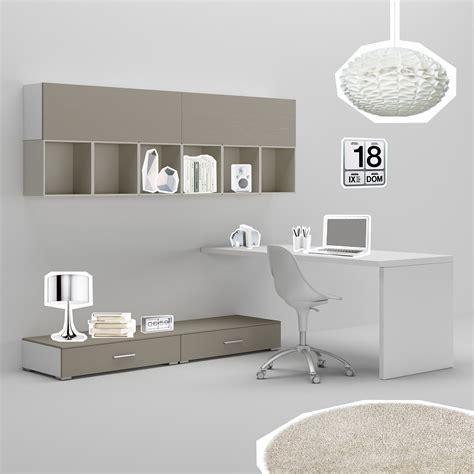 bureau ado avec rangement bureau ado avec jambage moderne épuré compact