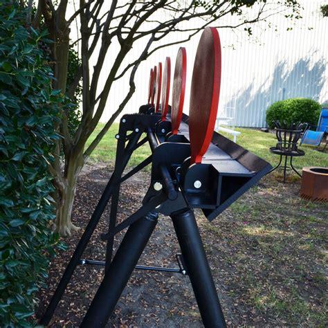 shooting plate target system  stand ar steel handgun rifle targets titan great