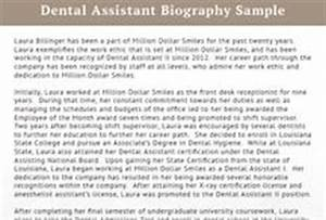 best biography samples best biography on pinterest With dentist biography template