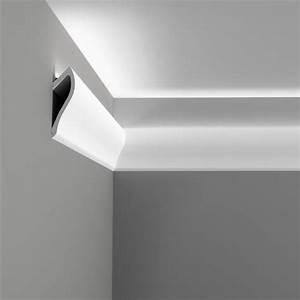 Corniche Eclairage Indirect : corniche moulure de plafond axxent orac decor pour eclairage indirect c371 ~ Melissatoandfro.com Idées de Décoration