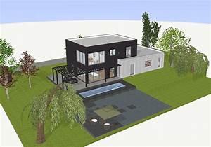 Dessiner Plan De Maison : plan maison 3d logiciel gratuit pour dessiner ses plans 3d ~ Premium-room.com Idées de Décoration