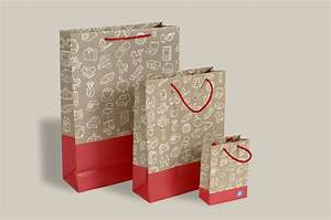 Quality Printed Luxury Paper Carrier Bags | Rope Handles ...