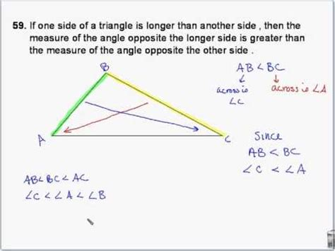 Geometry  Triangle Midsegment And Triangle Inequality Theorems Youtube