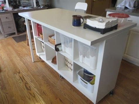cuisines hacker extendable kitchen island expedit and linmon ikea