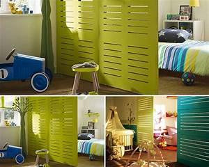 beautiful cloison amovible chambre bb with cloison With delightful la maison du paravent 1 paravent baru design