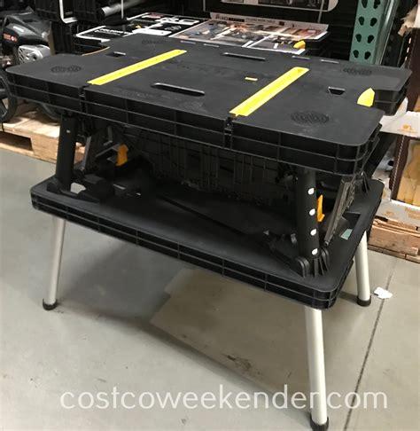 keter folding work table costco weekender