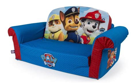 paw patrol sofa bed marshmallow furniture flip open sofa bed paw patrol chair