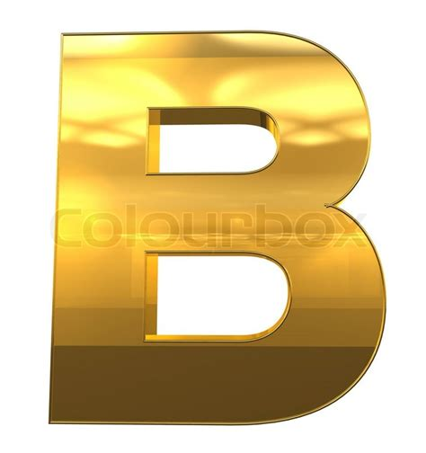gold alphabet 3d letters stock photography image 29339742 letter b from gold with gold frame alphabet set isolated 75864