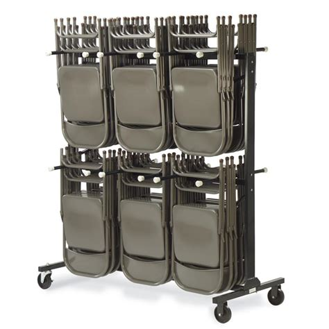 virco upright mobile chair cart hct6072 stores 84 chairs