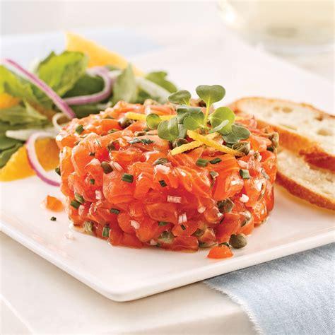 recette de cuisine saumon tartare de saumon classique recettes cuisine et