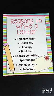 ways to sign a letter teaching letter writing j creations 50314