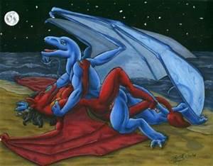 Anthro Dragons Mating Herpy