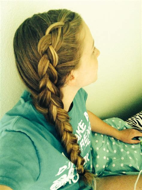 french dutch braid on the side easy to do on yourself