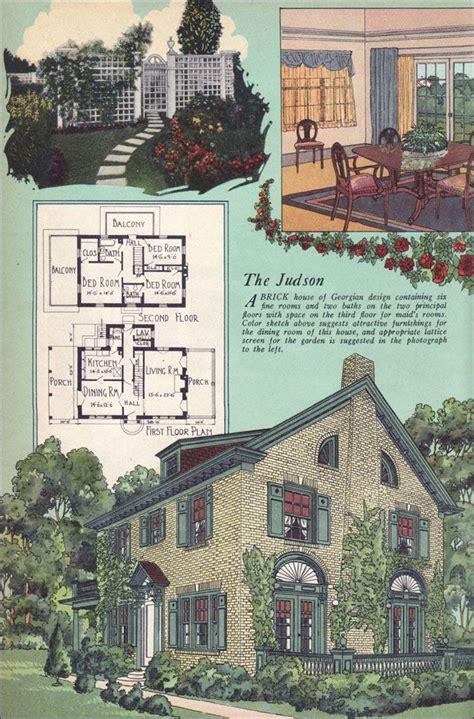 images  vintage home plans  pinterest dutch colonial modern homes  kit homes