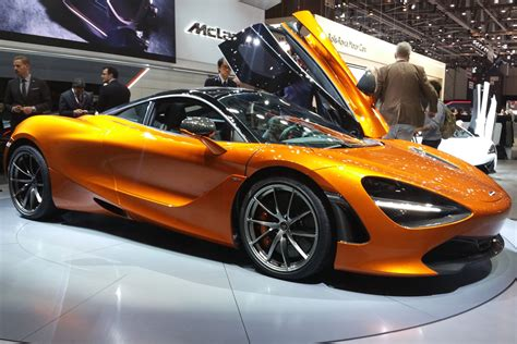 New Mclaren 720s Supercar Storms Geneva Carbuyer