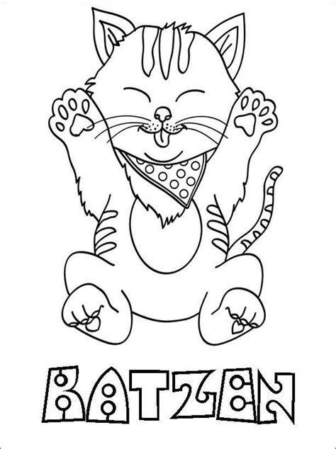 ausmalbilder katzen  ausmalbilder zum ausdrucken