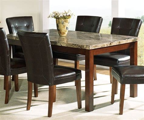 pictures of dining room tables stone dining room table marceladick com