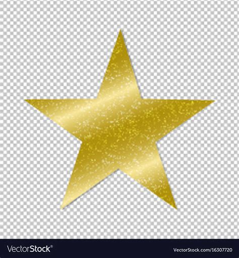 Image With Transparent Background Golden On Transparent Background Royalty Free Vector