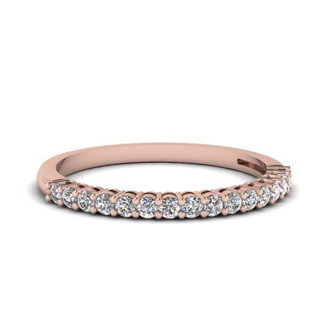 rose gold wedding bands  women fascinating diamonds